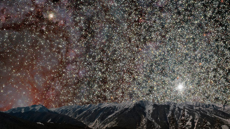 What The Night Sky Would Look Like From Inside A Globular ...