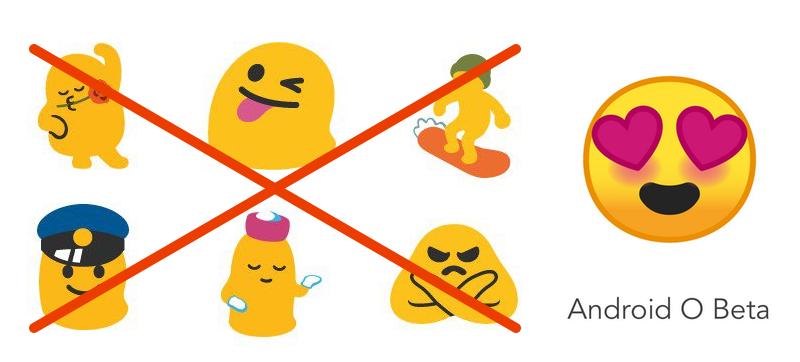 Illustration for article titled Google rediseña los emojis de Android para que dejen de parecer gusanos obesos