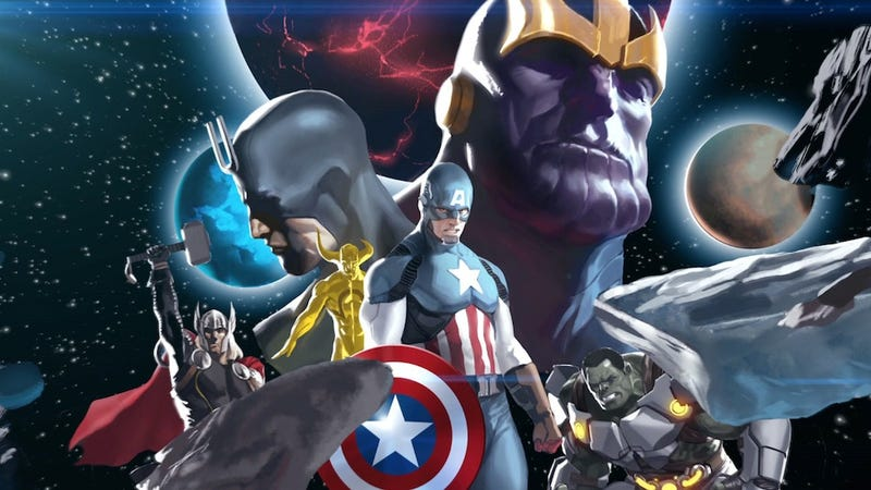 Illustration for article titled Marvel turns it up to Infinity in This Week's Comics