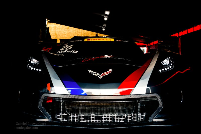 Boo! The Callaway Corvette wants to eat your soul!