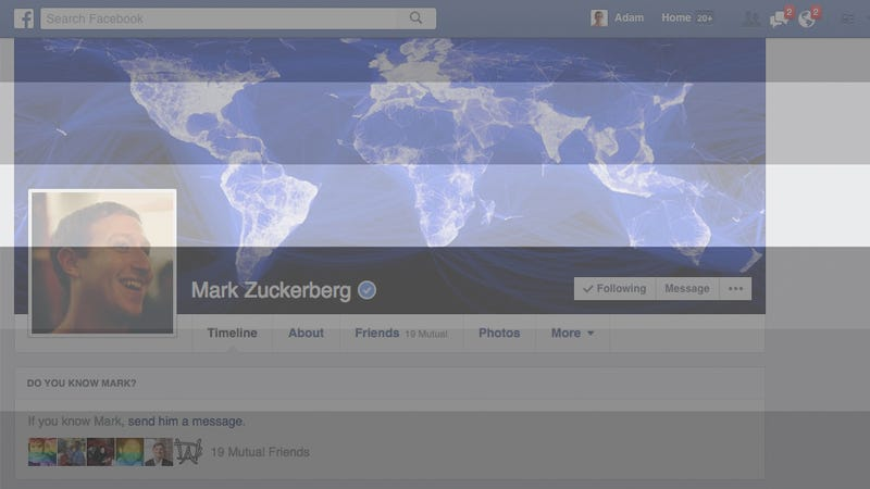 """Illustration for article titled Mark Zuckerberg Finally Weighed in on Facebook's """"Real Name"""" Problem"""