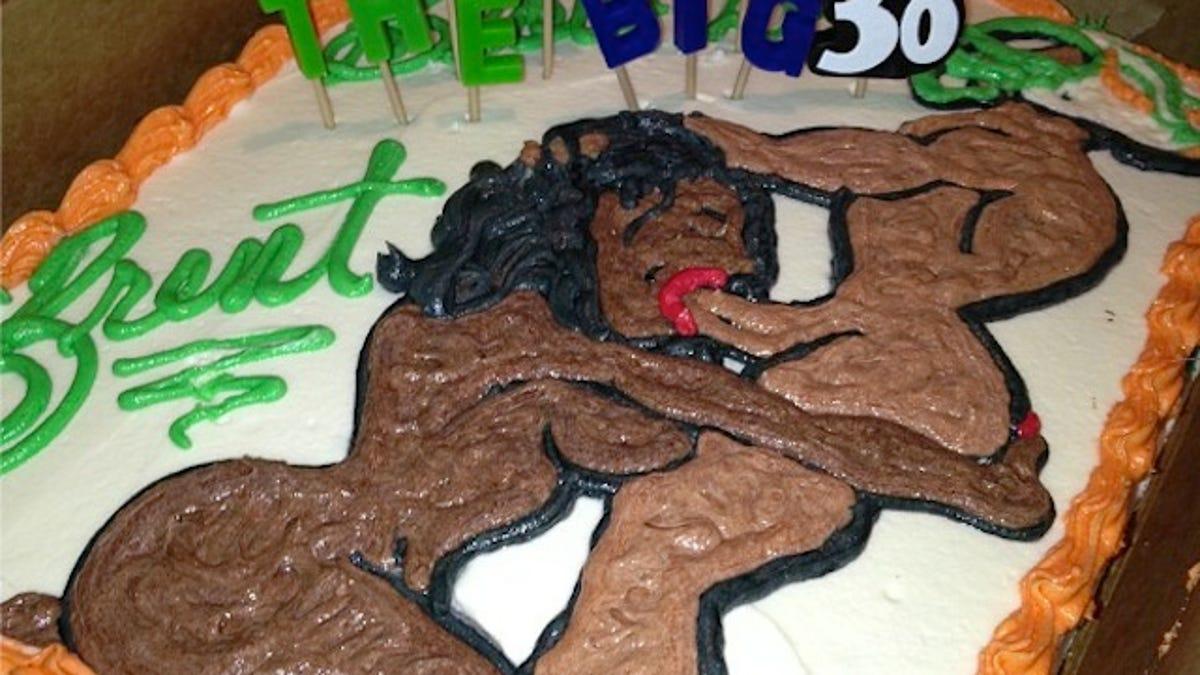 Miko Grimes Birthday Cake