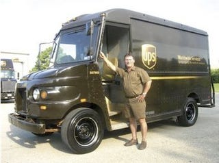 Illustration for article titled UPS Truck Turns Over A Million Miles In 22 Years