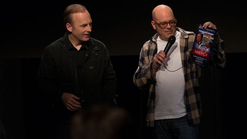 """Illustration for article titled Bob Odenkirk and David Cross on making a sketch show with """"less crying"""""""