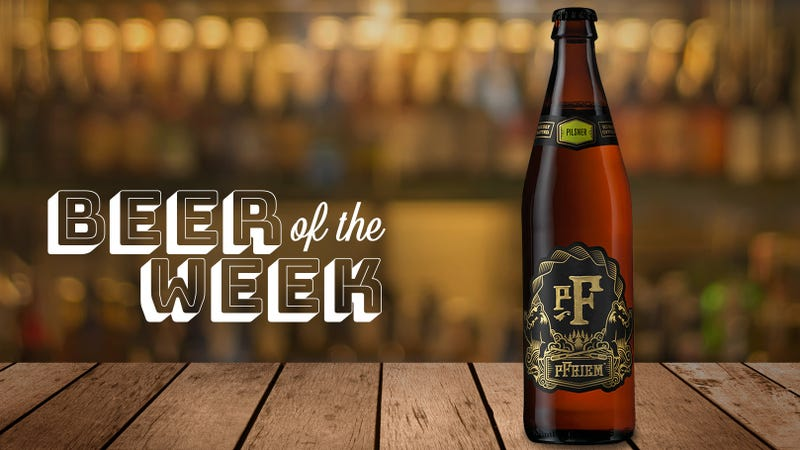 Illustration for article titled Beer Of The Week: pFriem Family Brewers Pilsner is the rare lager people get hyped for