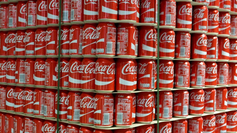 Illustration for article titled Coke prices rise thanks in part to Trump's aluminum tariff
