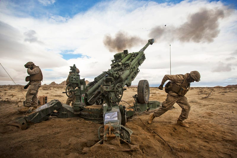 Shadowy Marine Artillery Base In Iraq Attacked Again After Deadly ...
