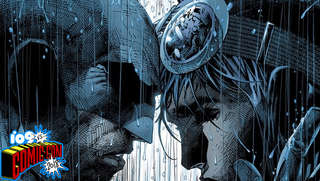 Detail from a variant cover of Batman #50.