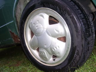 Illustration for article titled How To Uncute Teddy Bear Wheels