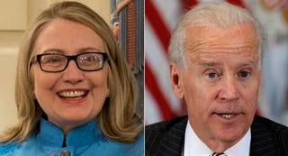 Illustration for article titled A GIF Guide: Why Hillary Clinton is More Beloved than Joe Biden