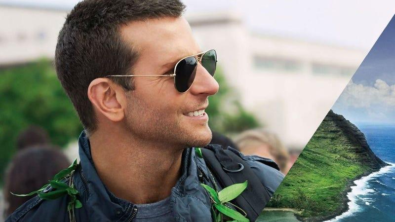 Bradley Cooper in Aloha.