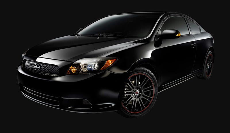 Illustration for article titled Scion tC Release Series 5.0 Blacks Out
