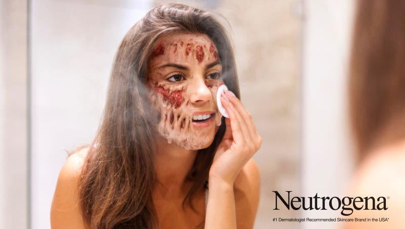 Illustration for article titled New Neutrogena Extra-Strength Face Wash Instantly Dissolves Bad Skin