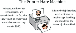 Illustration for article titled Remains of the Day: Your Printer Was Made to Make You Miserable Edition
