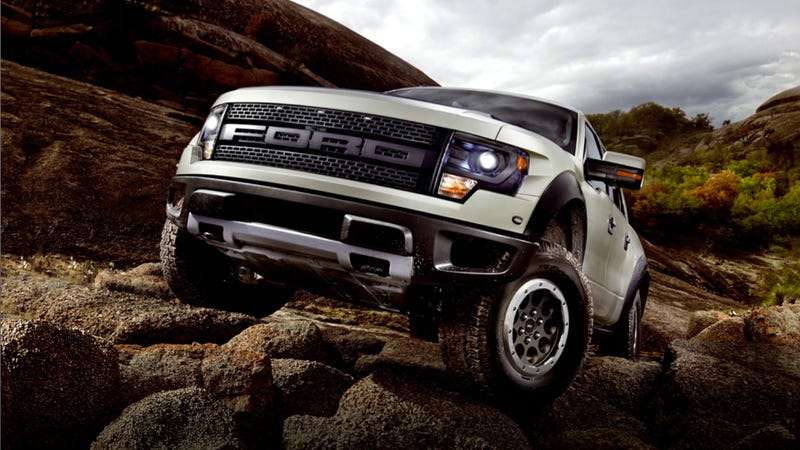 the 2013 ford f-150 svt raptor is still a gnarly truck