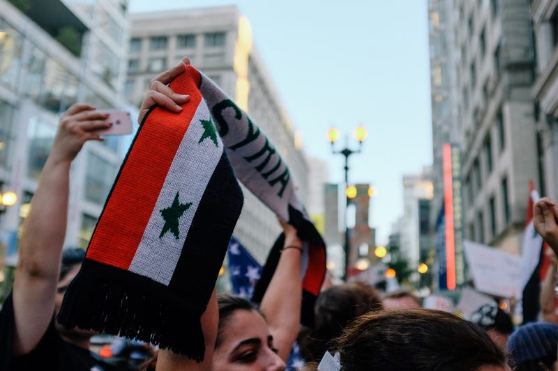 Illustration for article titled Corruption Week: Syrian Protest