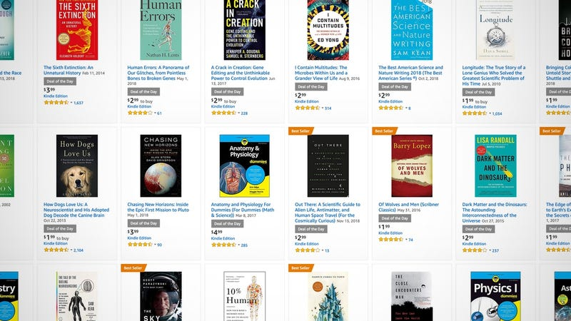 Kindle Science Book Sale | Amazon