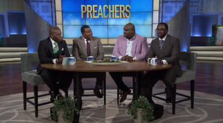 The Preachers: Jamal Bryant, E. Dewey Smith Jr., John Gray and Orrick QuickFox Screenshot