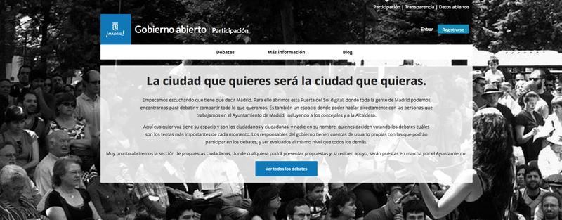 Illustration for article titled Madrid crea un portal de participación como Reddit y publica su código online