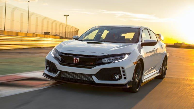 The Honda Civic Type R.