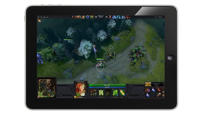 Illustration for article titled Valve Wants To Get Dota 2 Running On Tablets