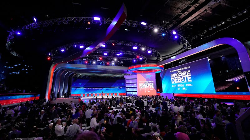 Third Democratic Debate Night's Alright for Fighting: An Open Thread