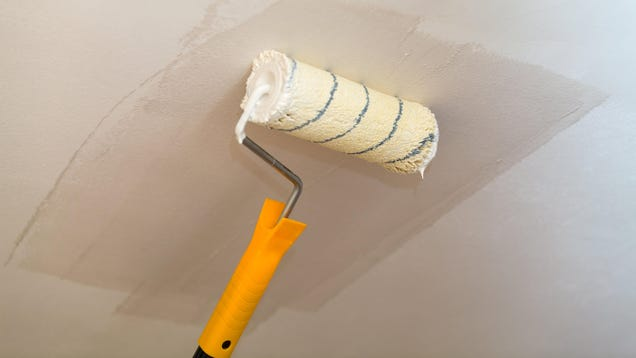 How to Paint a Ceiling Without Getting Paint Everywhere, Including on Yourself