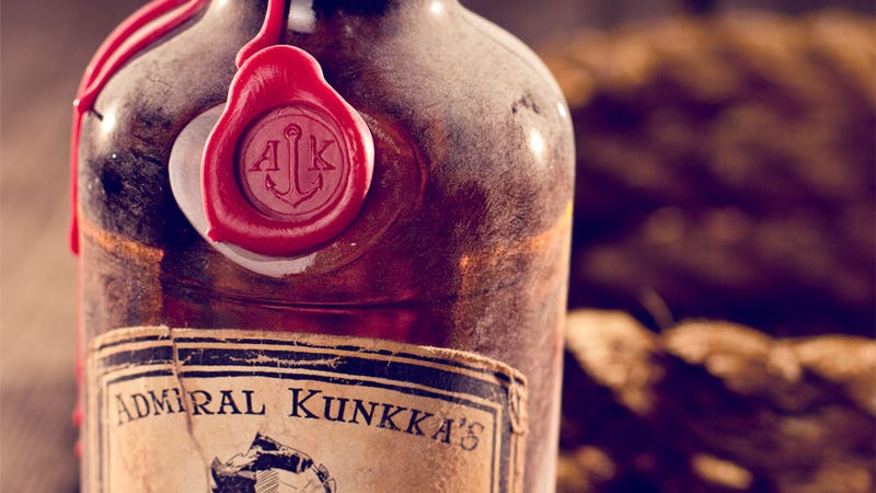 Illustration for article titled If Valve Made Bottles of Rum, They'd Hopefully Look This Cool