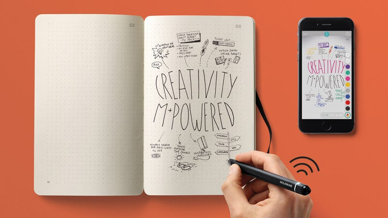 Illustration for article titled Moleskine's Smartpen Digitizes Your Notebooks as You're Writing In Them