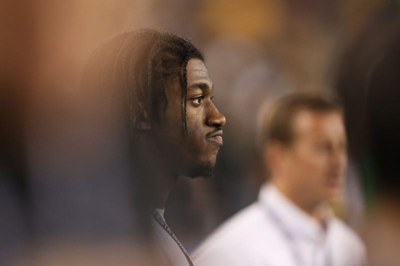 Illustration for article titled Robert Griffin III Has Had It With Fans Complaining About Dumb Things