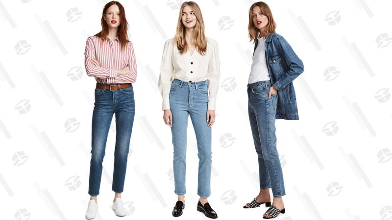 best sneakers unbeatable price purchase cheap Somehow, H&M Figured Out Straight Cut Denim That Fits Non-Models