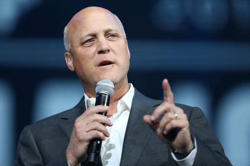 New Orleans Mayor Mitch Landrieu speaks during a Hurricane Katrina 10th anniversary event Aug. 29, 2015, in New Orleans. Joe Raedle/Getty Images