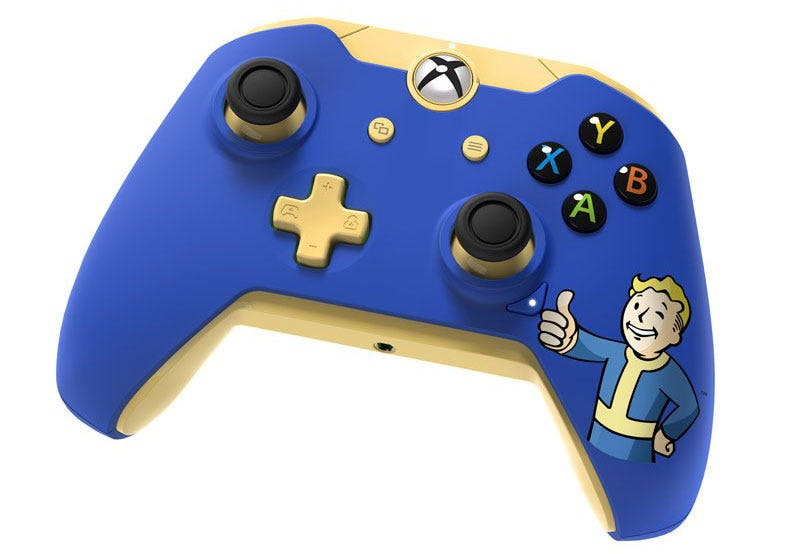Illustration for article titled Official Fallout Controller Looks Hot