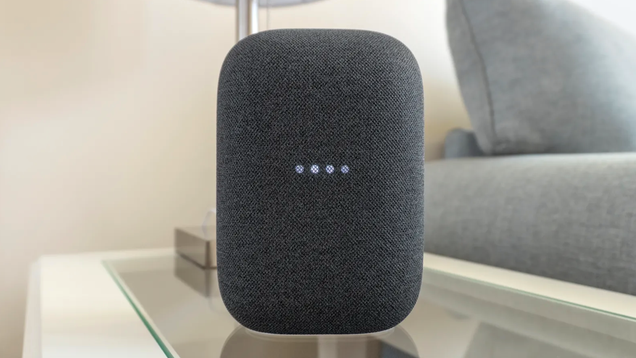 Apple Music Arrives on Nest Audio Smart Speakers