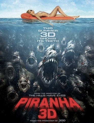 Illustration for article titled Piranha 3D's $10 million opening weekend spawns a sequel?
