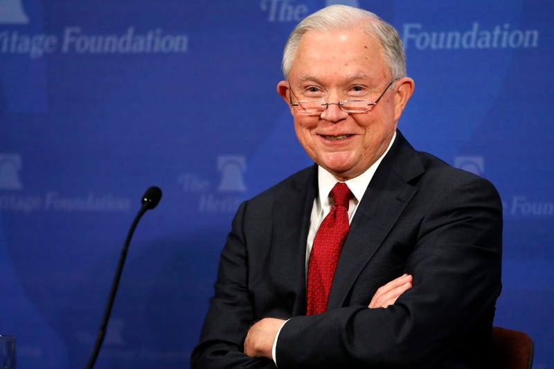 Attorney General Jeff Sessions loves to speak at the nonprofit Heritage Foundation, which helps to advance his agenda. (AP)