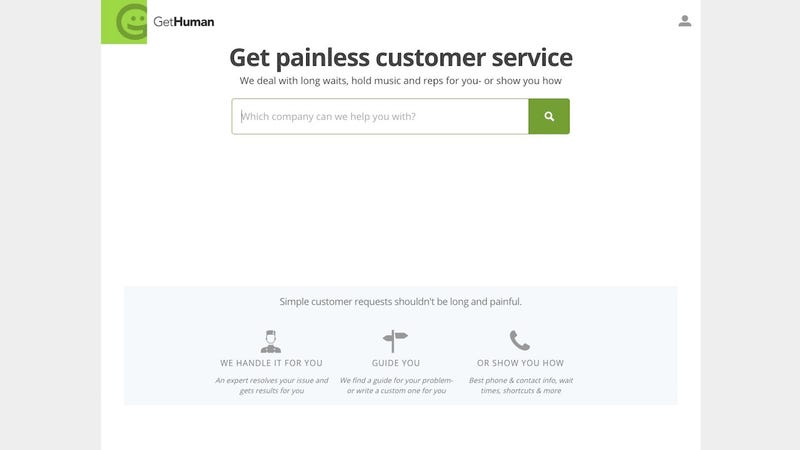 Illustration for article titled GetHuman Adds a Full-Service Concierge to Get Your Customer Service Issues Resolved