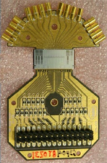 Illustration for article titled Intel Silicon Photonics Chip Is World's Fastest (and Prettiest)