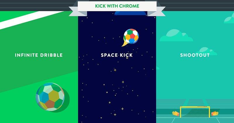 Illustration for article titled Juega al fútbol con tu selección en el nuevo experimento de Chrome