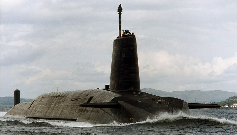 La respuesta a un apocalipsis nuclear en Reino Unido se encuentra en una caja fuerte en el fondo del mar