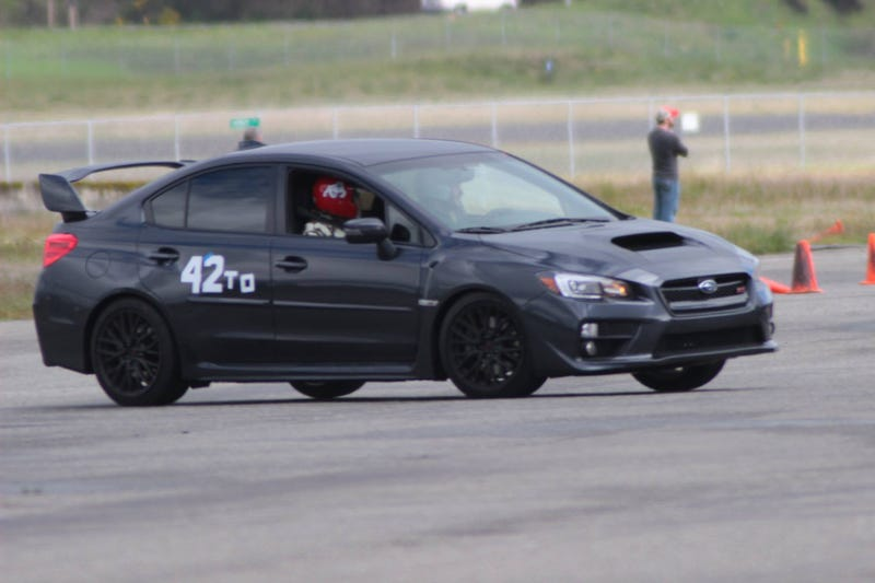 Illustration for article titled First autocross in the STi