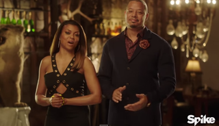 Taraji P. Henson and Terrence HowardYouTube screenshot