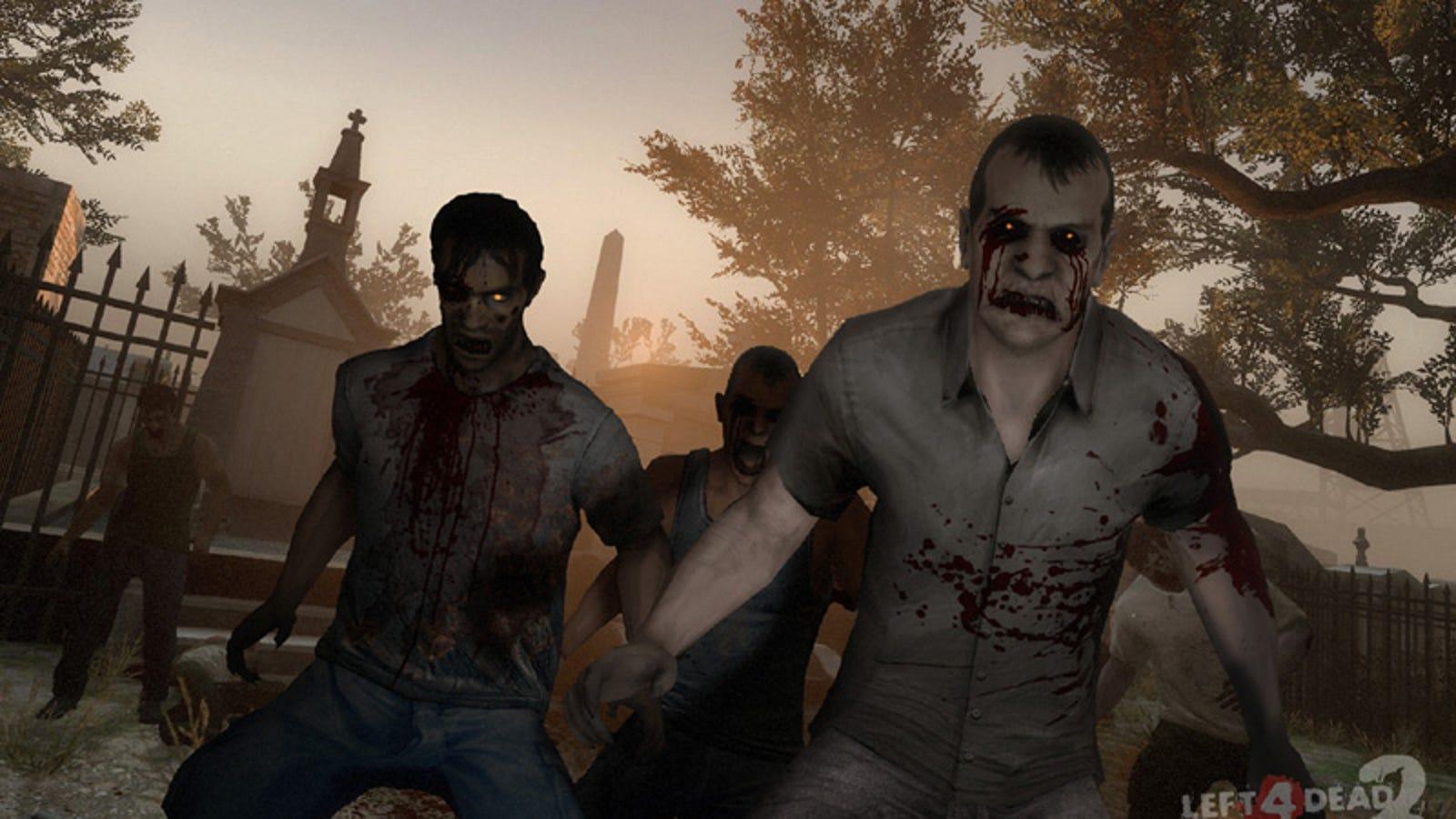 Left 4 Dead 2, el juego de zombies de Valve, gratis durante unas horas
