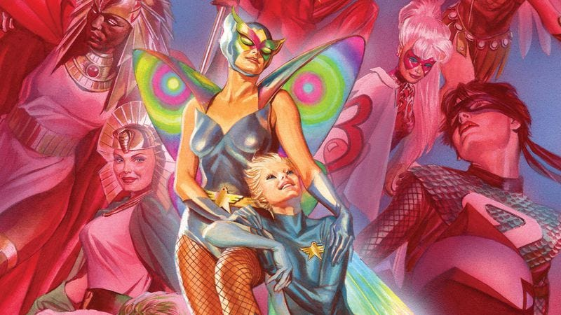 Illustration for article titled Exclusive DC preview: A new heroine rises in Astro City's milestone 25th issue