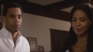 Michael Ealy and Sanaa Lathan in a scene from The Perfect Guyscreenshot from trailer for The Perfect Guy