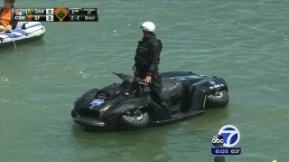 Illustration for article titled SF Crime Is So Bad Police Need Quad Bikes That Transform Into Jet Skis
