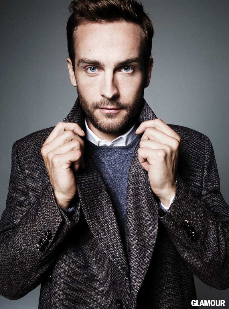 Illustration for article titled Tom Mison has great hands....