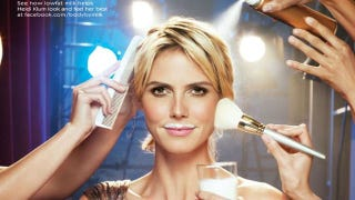 Illustration for article titled Heidi Klum Is Taking Naked Pictures For Project Runway