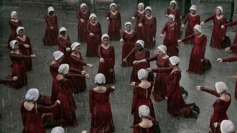 A hard rain's falling in The Handmaid's Tale