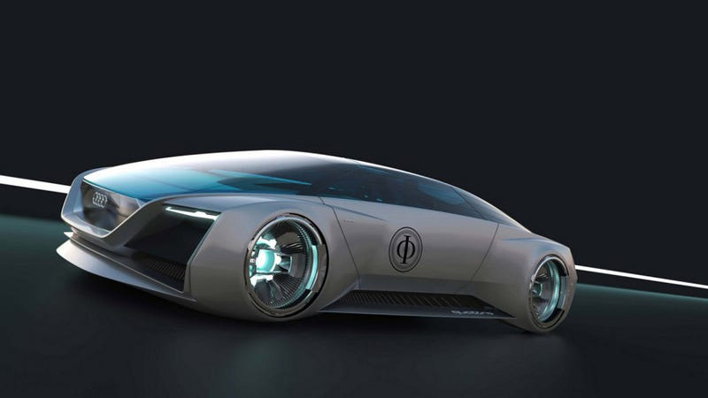 Illustration for article titled Audi designed this badass concept car for Ender's Game